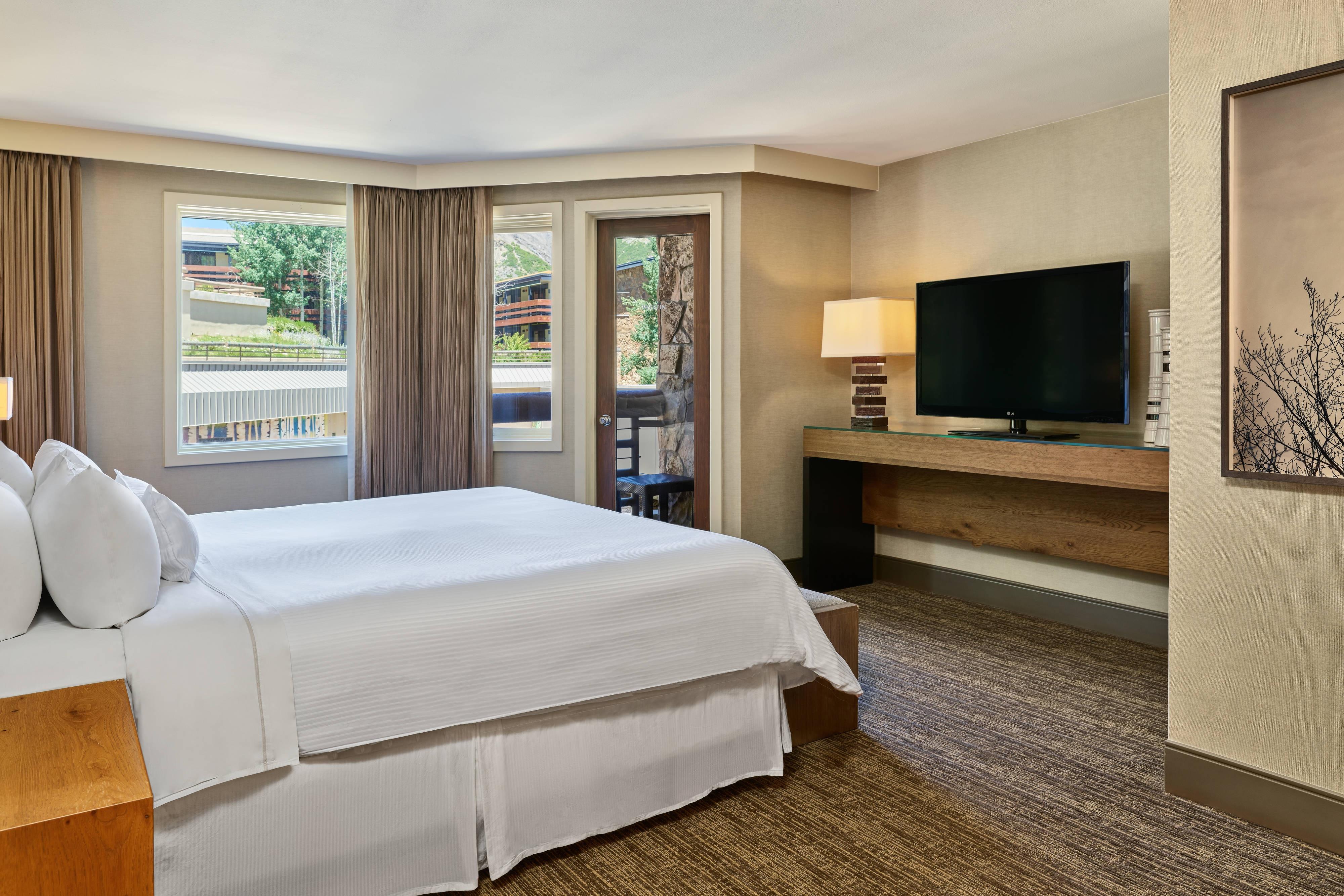 Junior Suite– Schlafzimmer