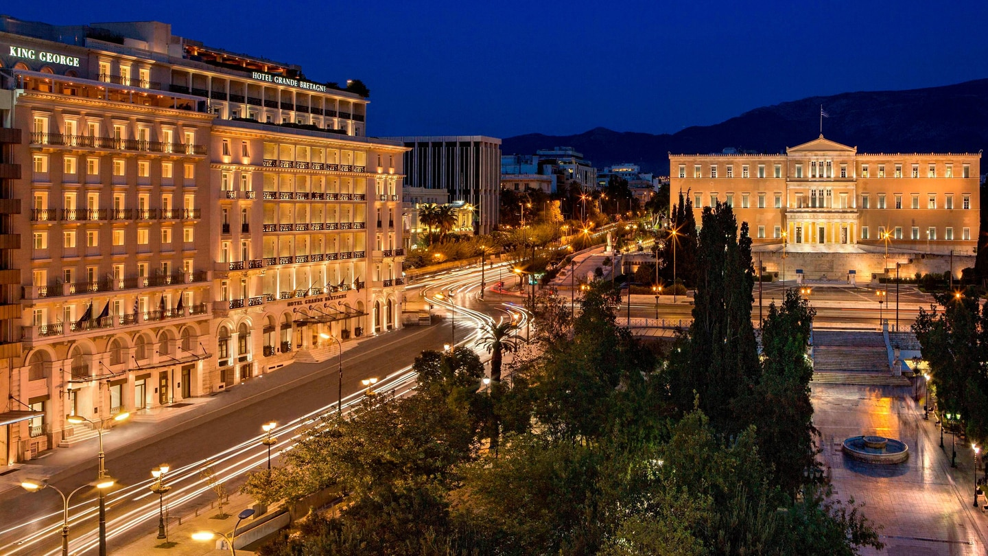 Luxury Hotels Resorts In Athens King George A Luxury Collection