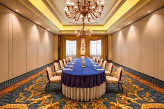 Golden Room - Boardroom Set-Up