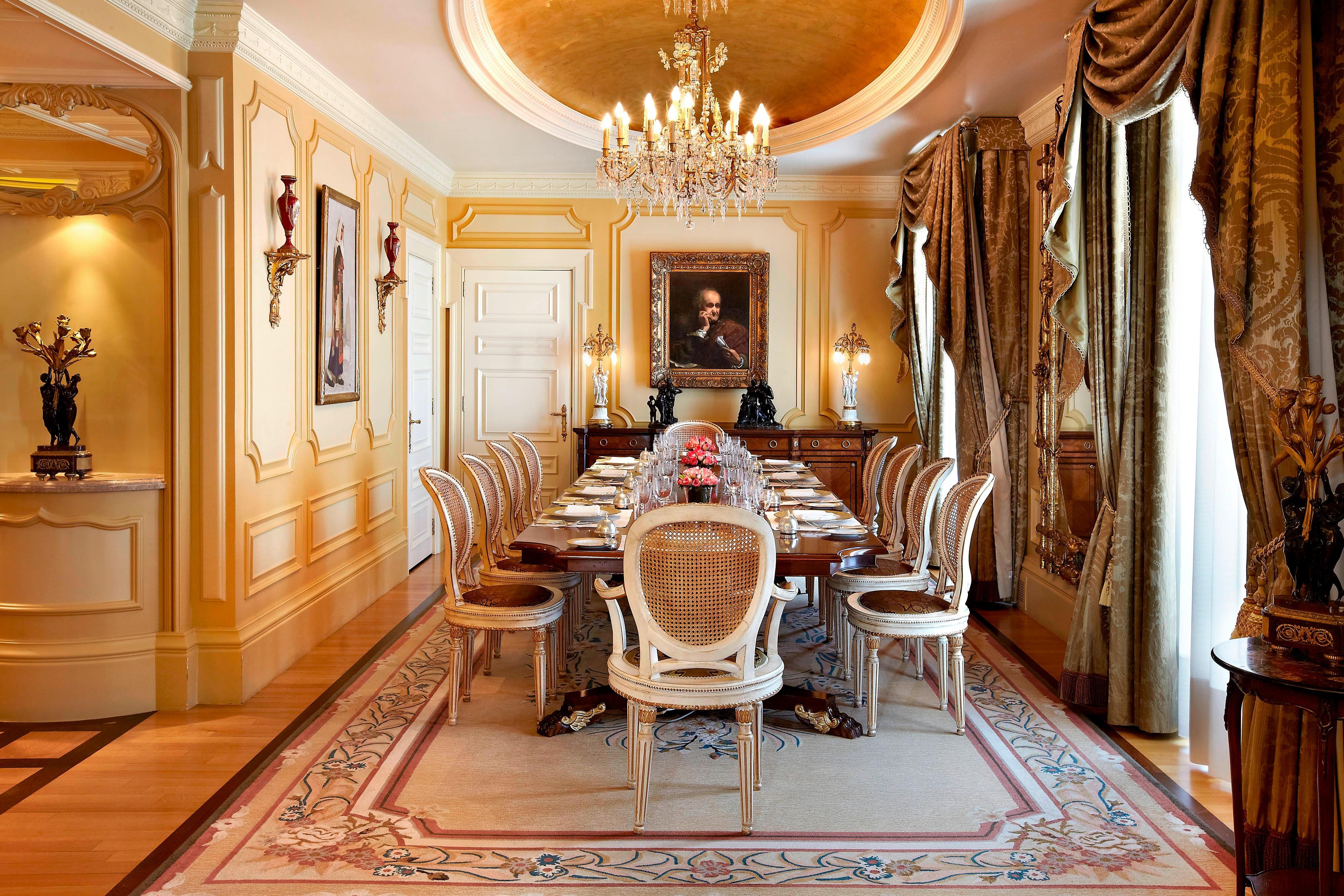 Столовая люкса Presidential
