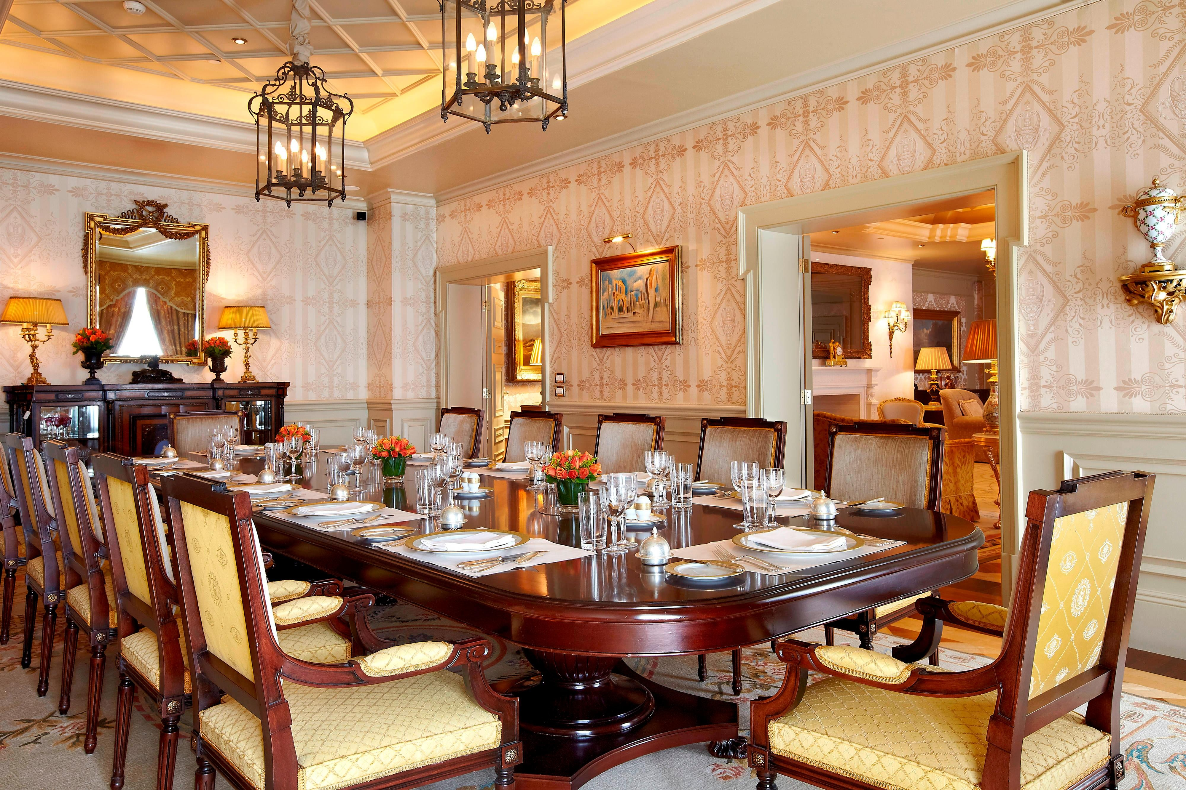Royal Suite - Dining Room