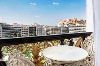 Royal Suite - Balcony Acropolis View