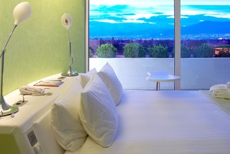 Penthouse Studio Bed View