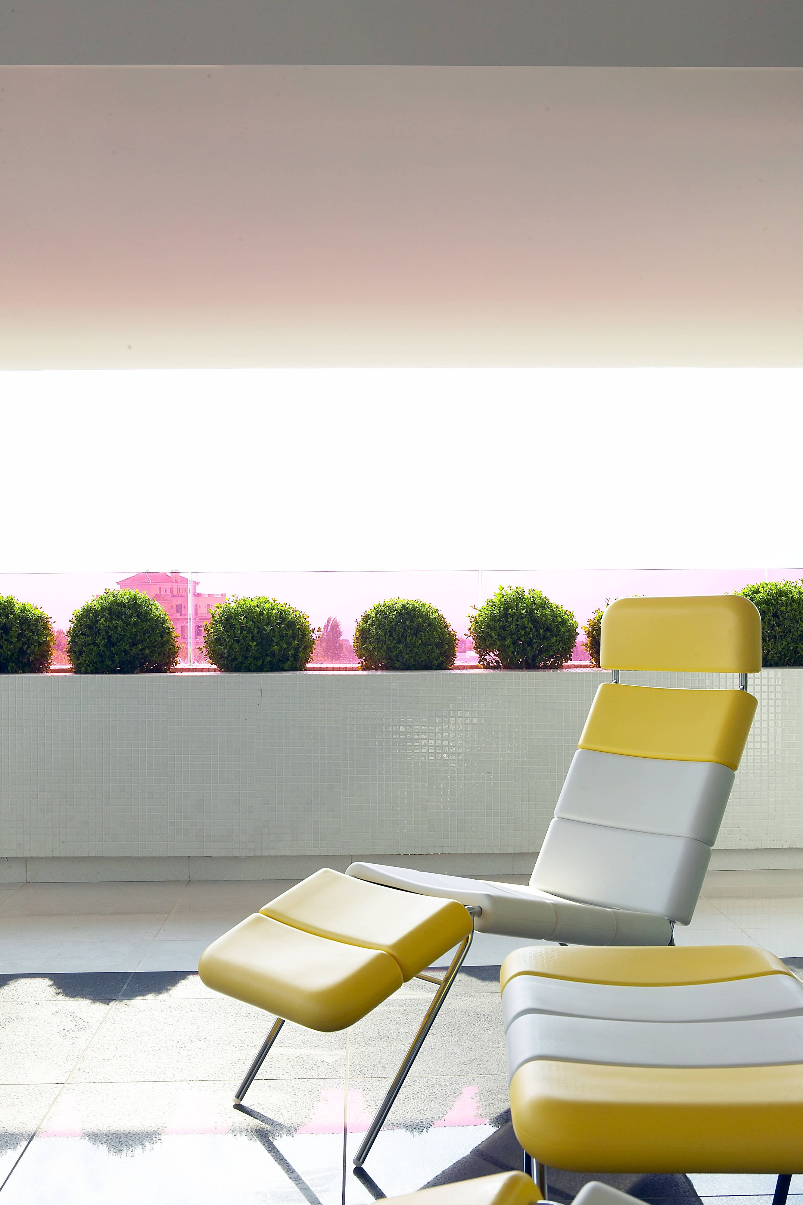 Suite Penthouse - Chaise longue sul balcone