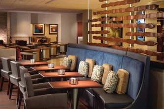 Voya Bistro Seating Area