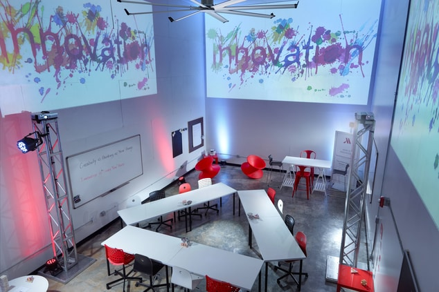 Innovation Lab – Arial View