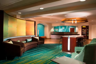 SpringHill Suites Buford Lobby