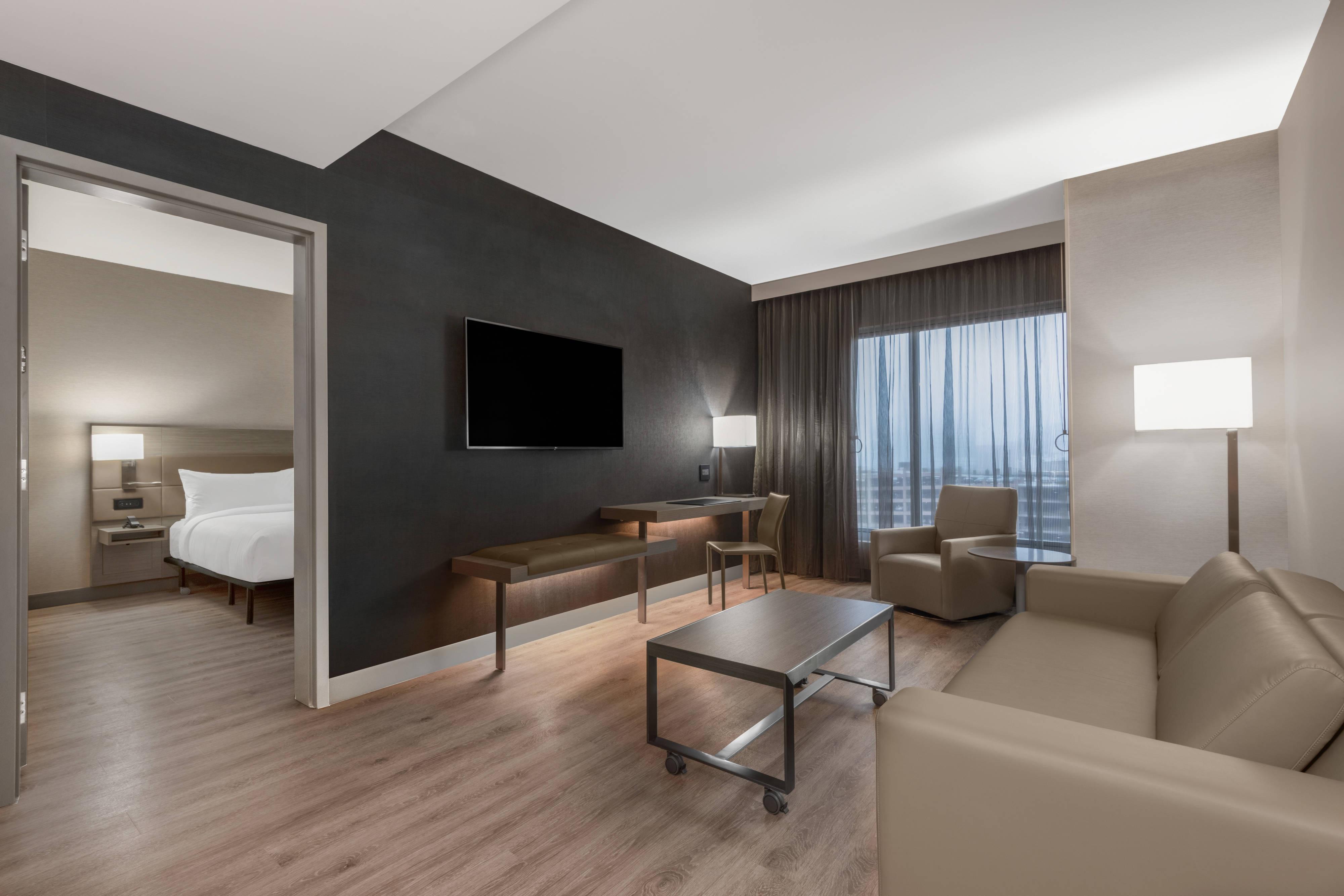 Suite mit Kingsize-Bett– Wohnzimmer