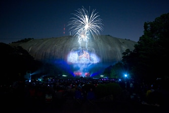 Lasershow Spectacular in Mountainvision