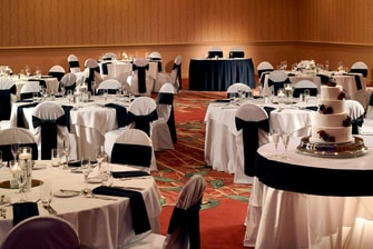 Evergreen Ballroom Wedding Reception
