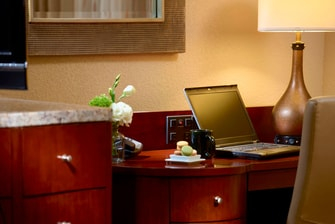 King and Double Suite – Work Area