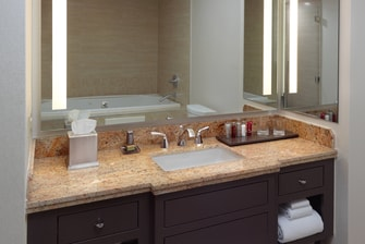Presidential Suite – Bathroom Vanity