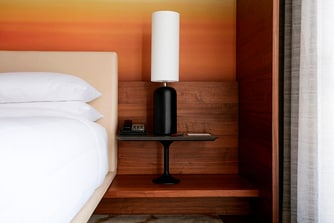 Concierge King Guest Room Night Stand