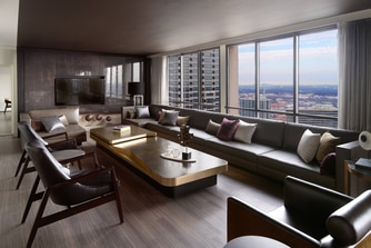 Presidential Suite – Living Area View