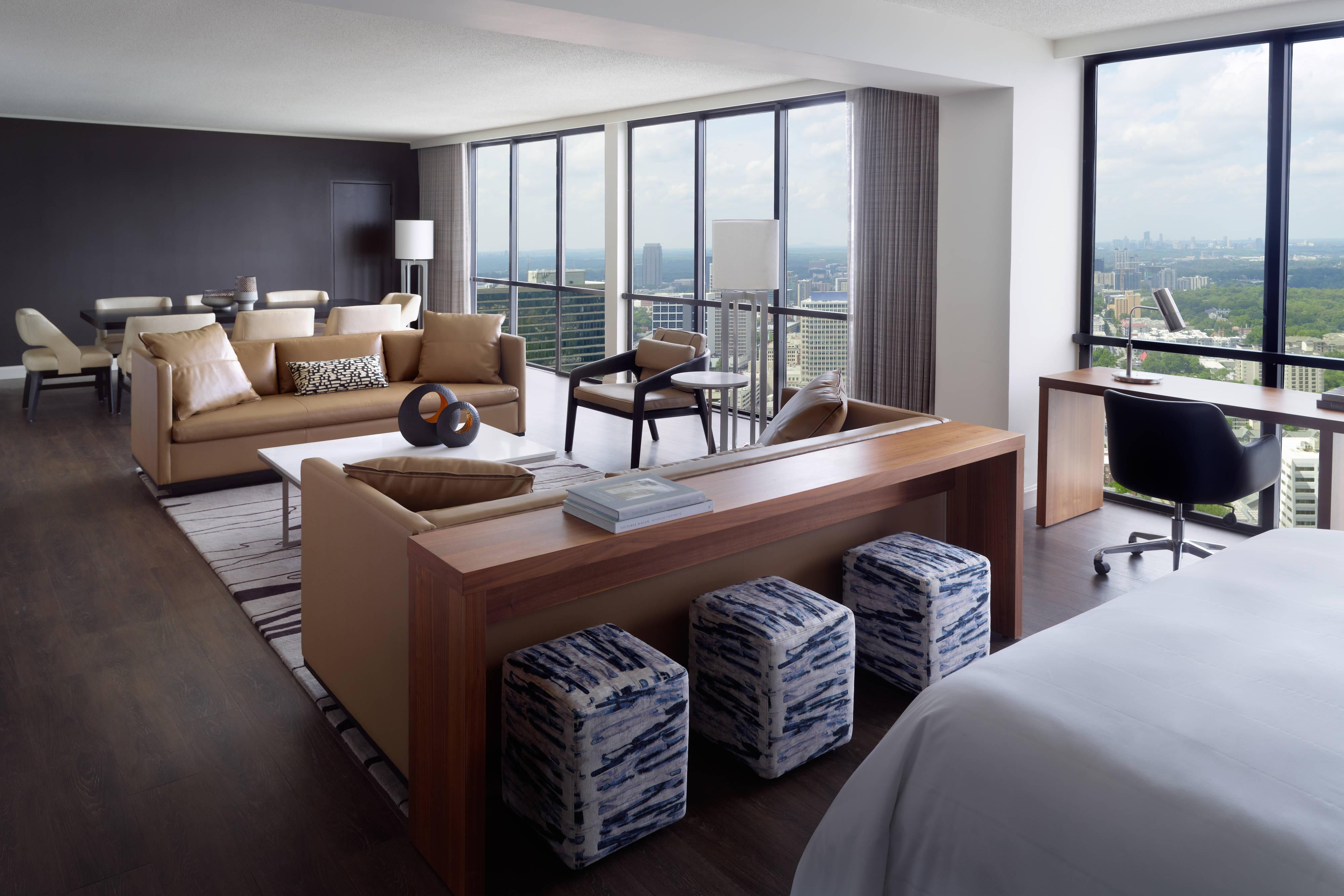 Hotel Suites In Atlanta Atlanta Marriott Marquis