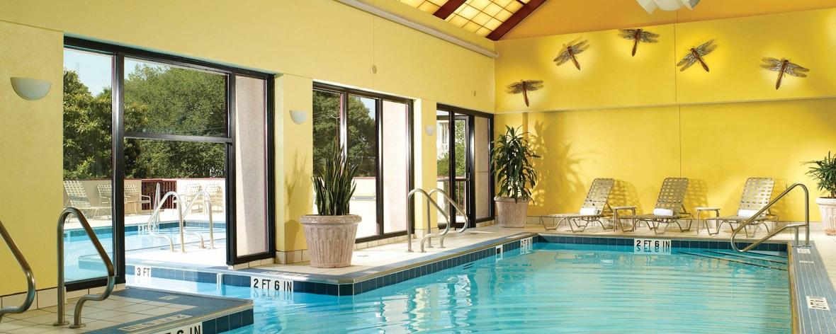 Indoor Outdoor swimming pool