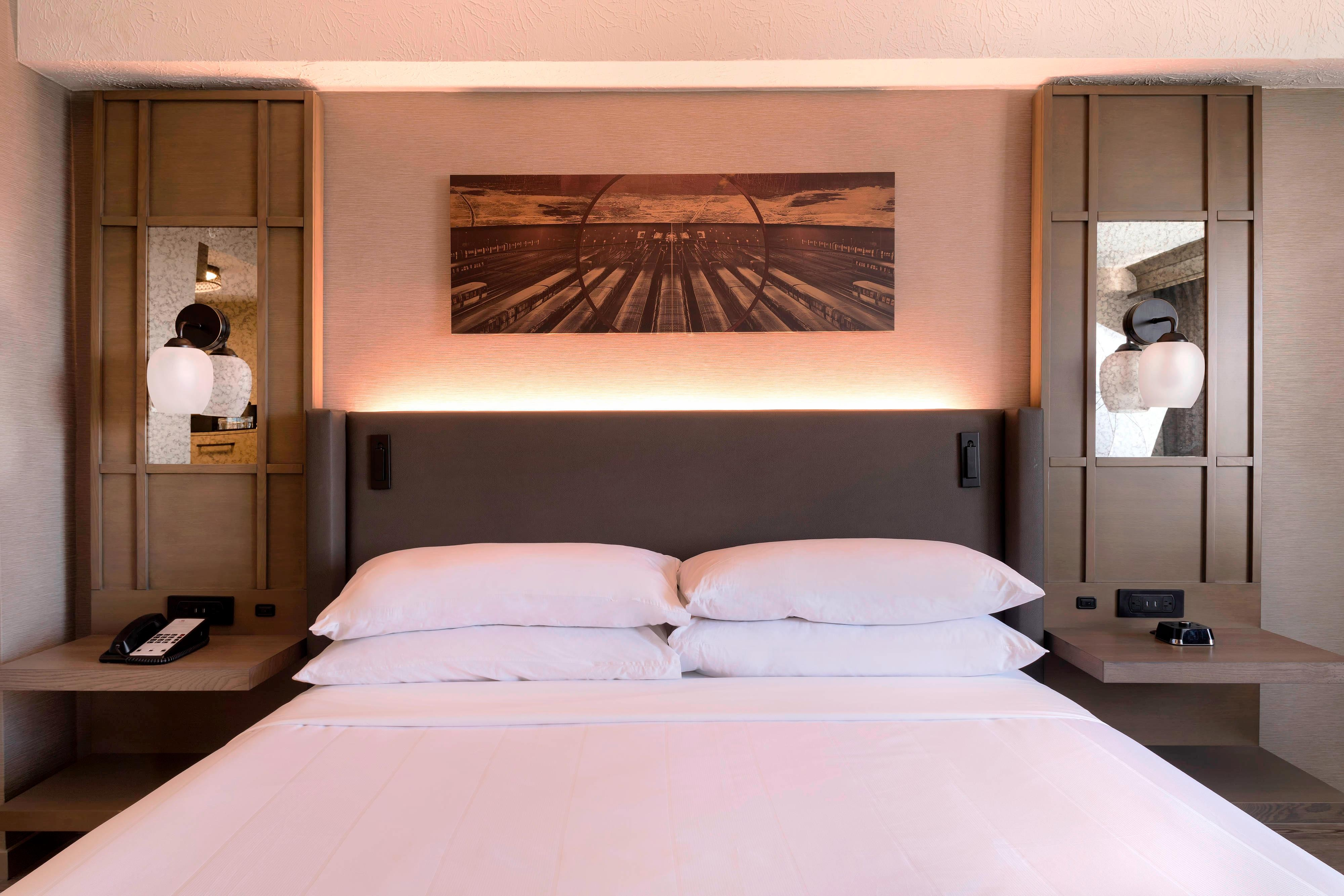 Habitación Queen - Dormitorio