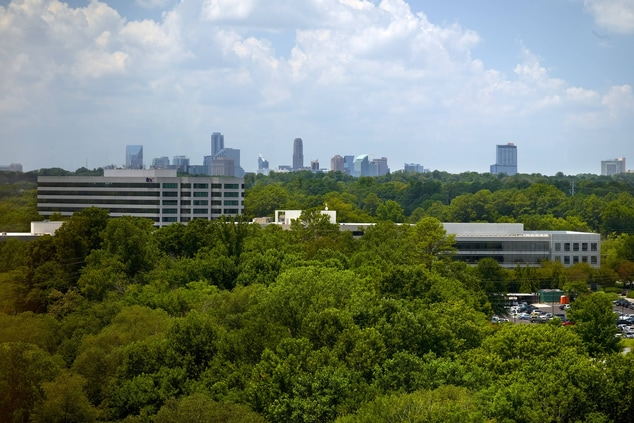 Concierge Lounge and Suite views of Buckhead
