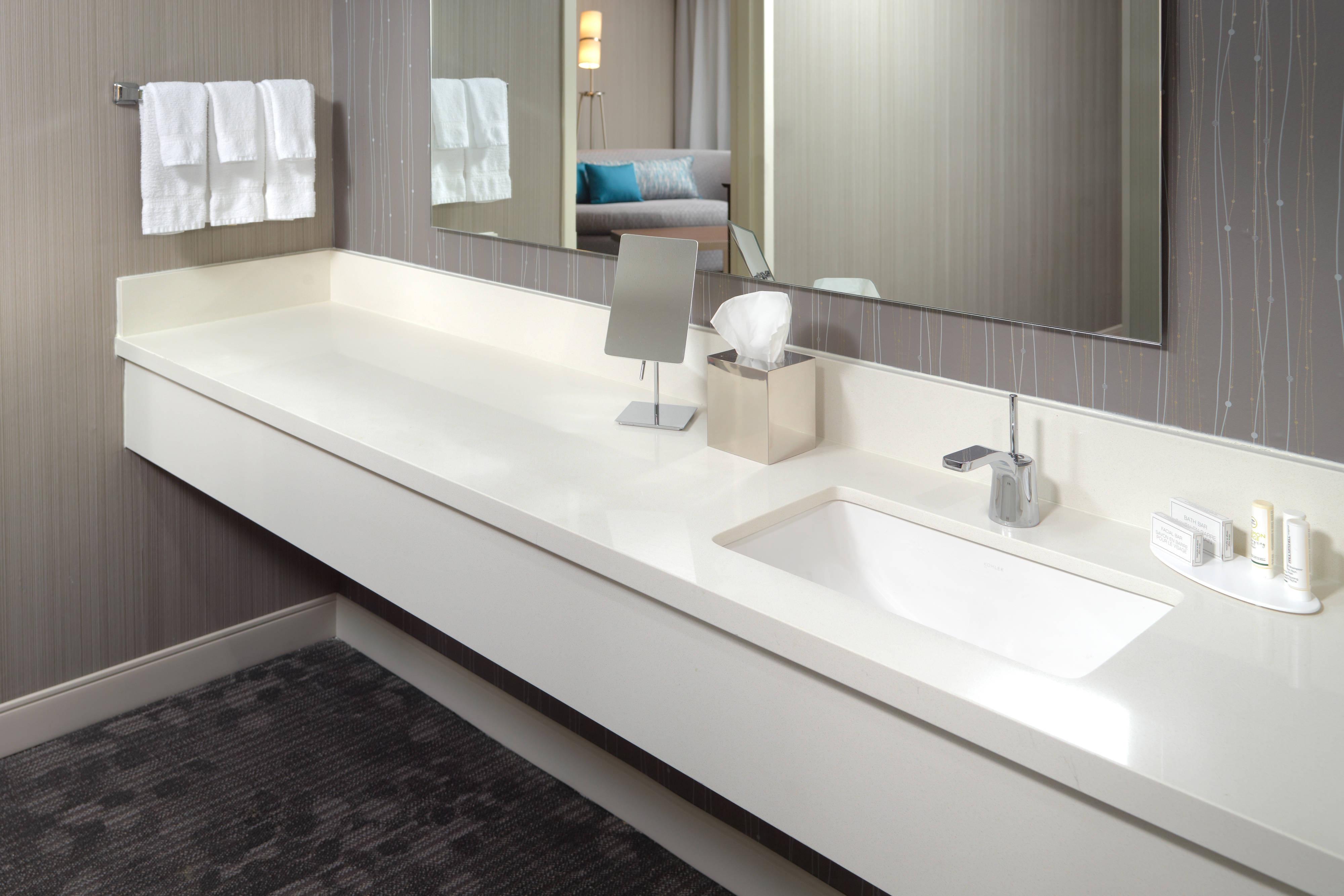 One-Bedroom Suite Bathroom Vanity