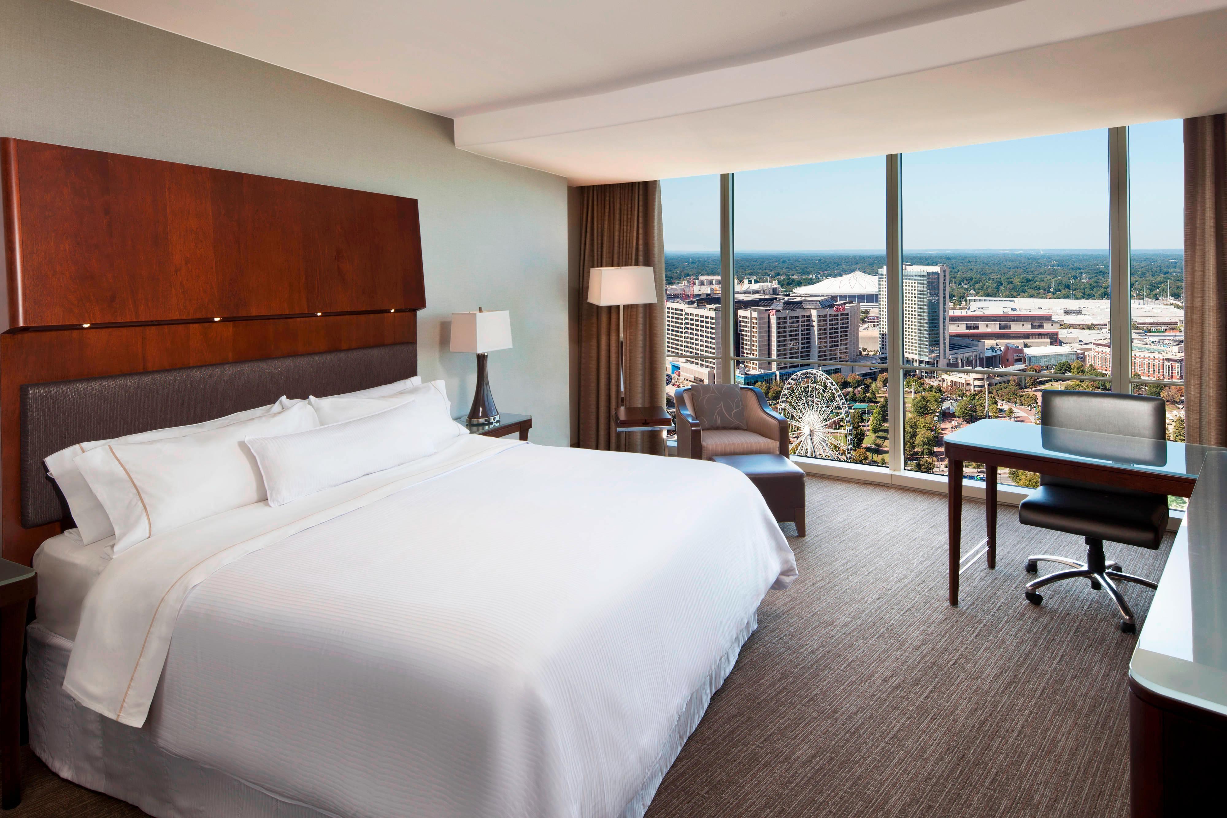 Habitación Deluxe con cama tamaño King y vista al parque Centennial