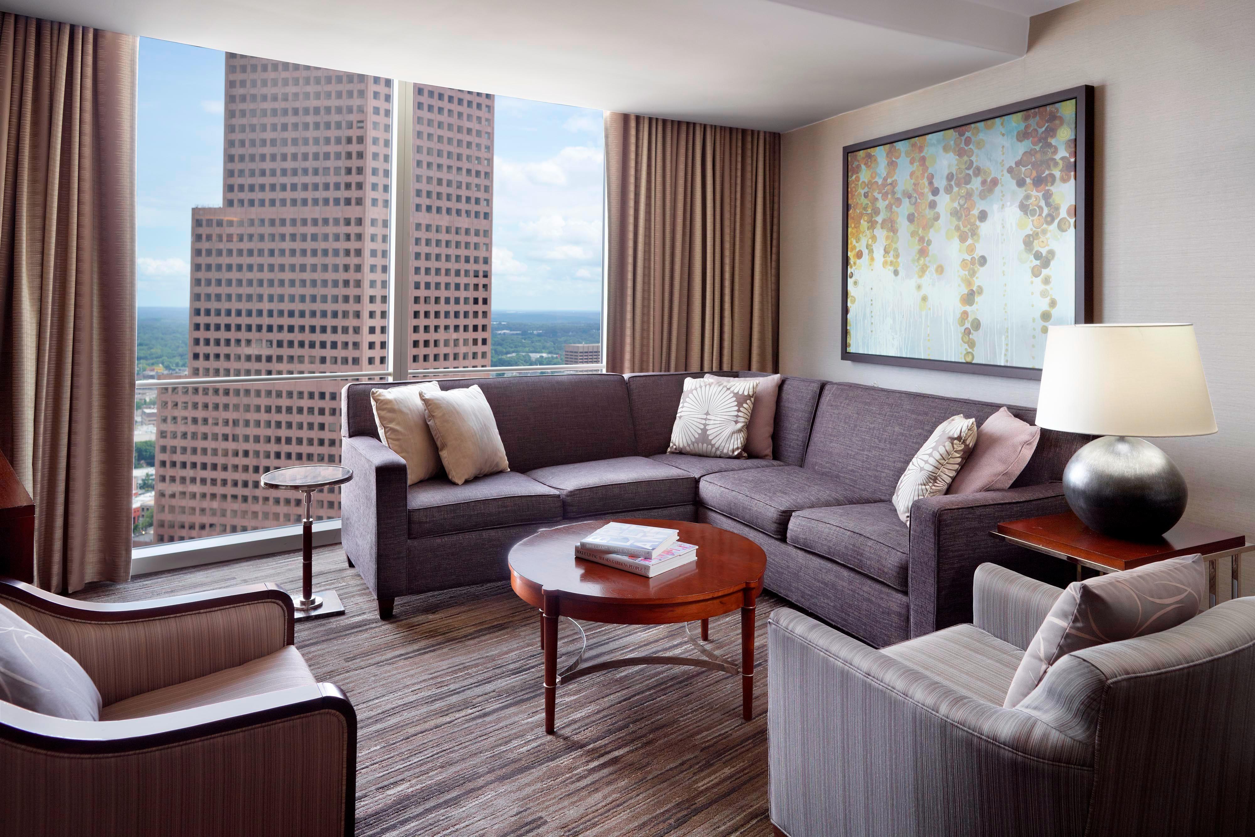 Suite Ejecutiva con cama tamaño King - Sala de estar