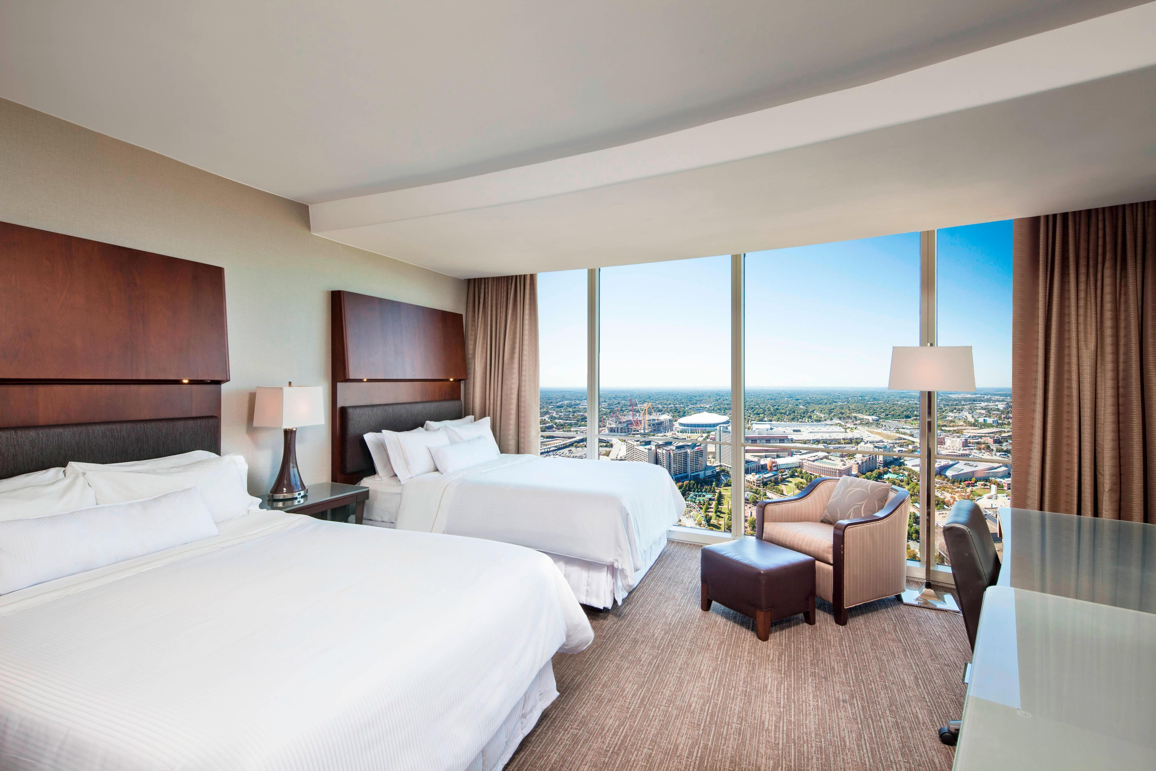 Premium Deluxe Doppelzimmer mit Blick auf den Centennial Park
