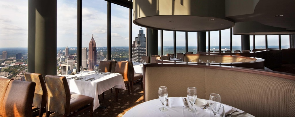 Hotel Dining Restaurants The Westin Peachtree Plaza Atlanta