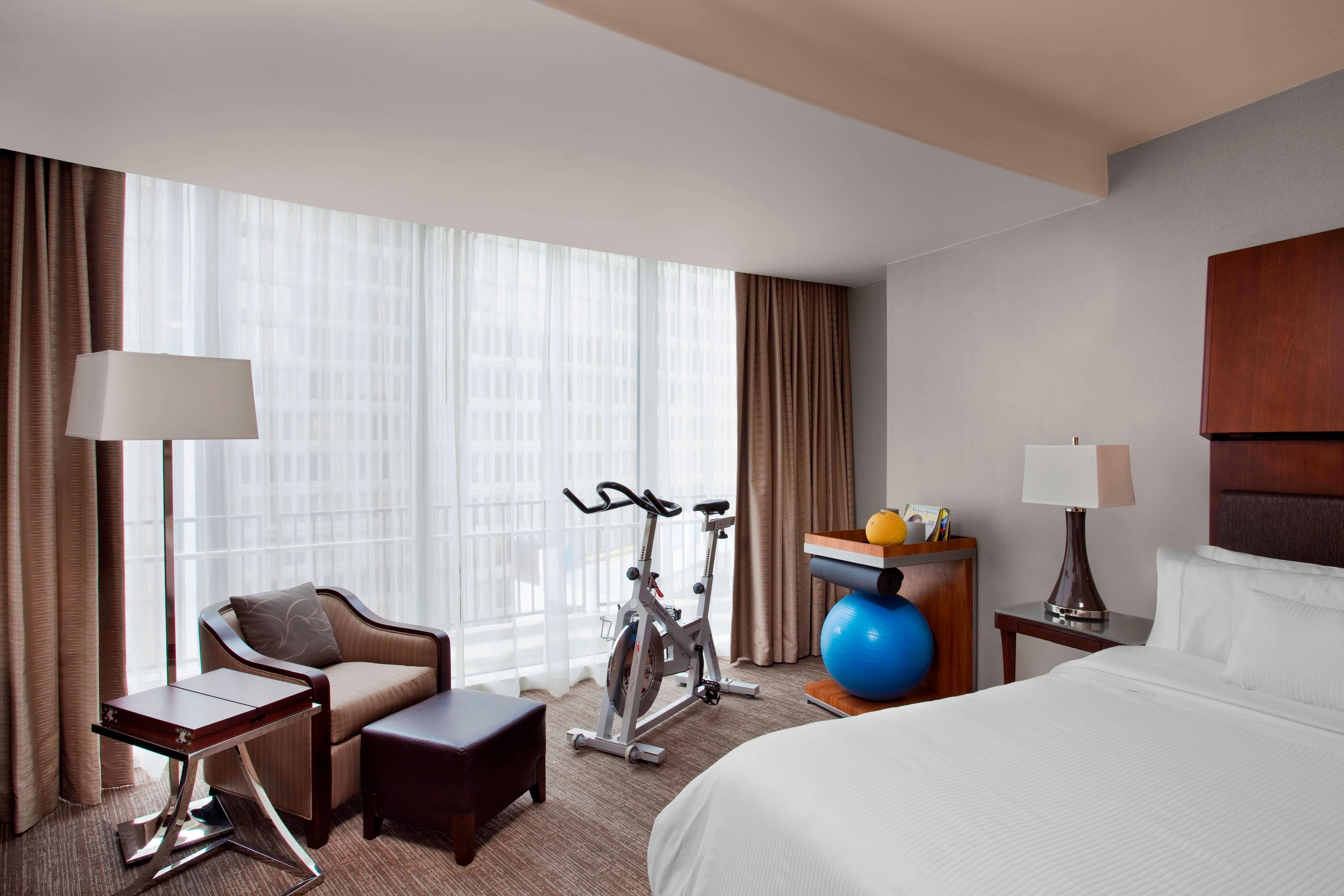 Chambre WestinWORKOUT