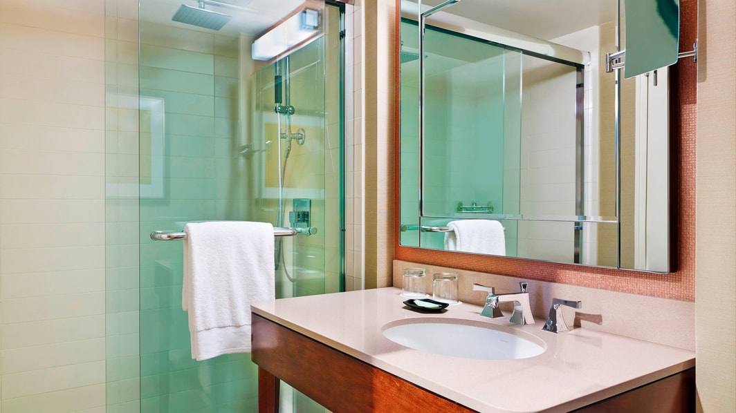 King Bath with Walk In Shower