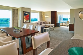 Presidential Suite - Living and Dining Room
