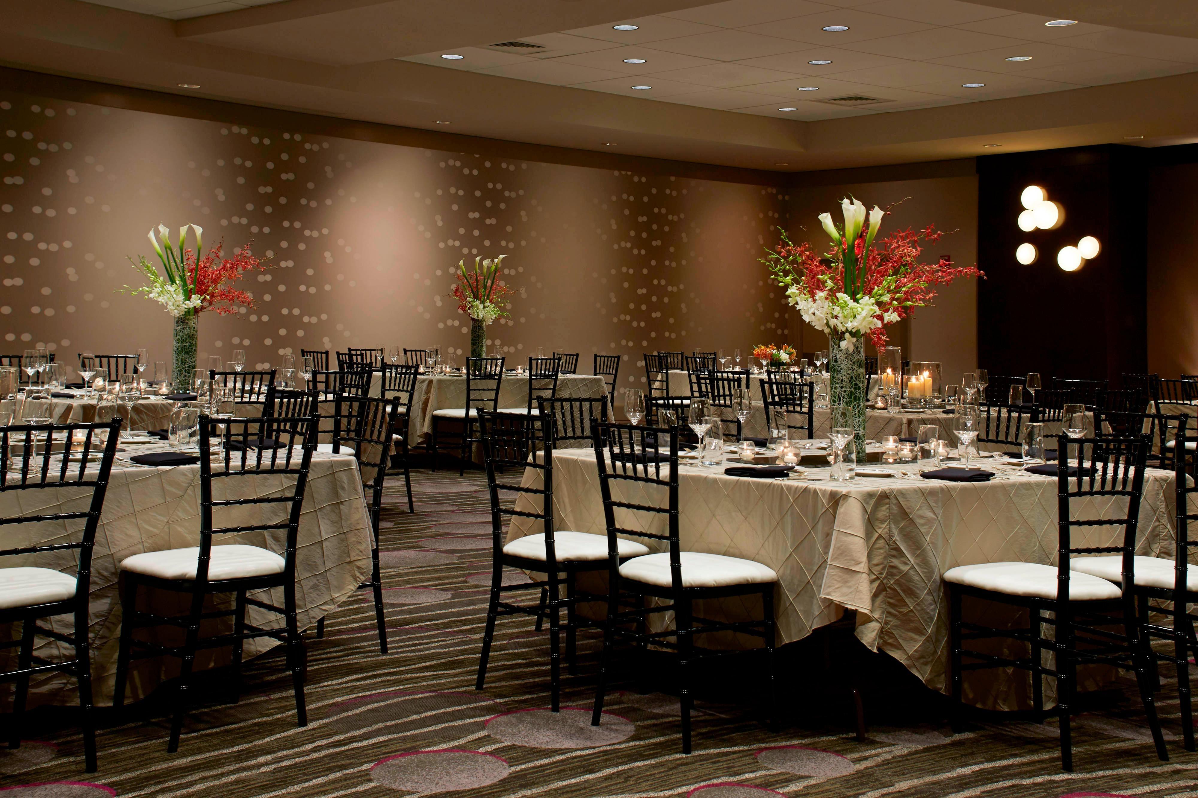 Salón Highlands - Disposición para banquetes
