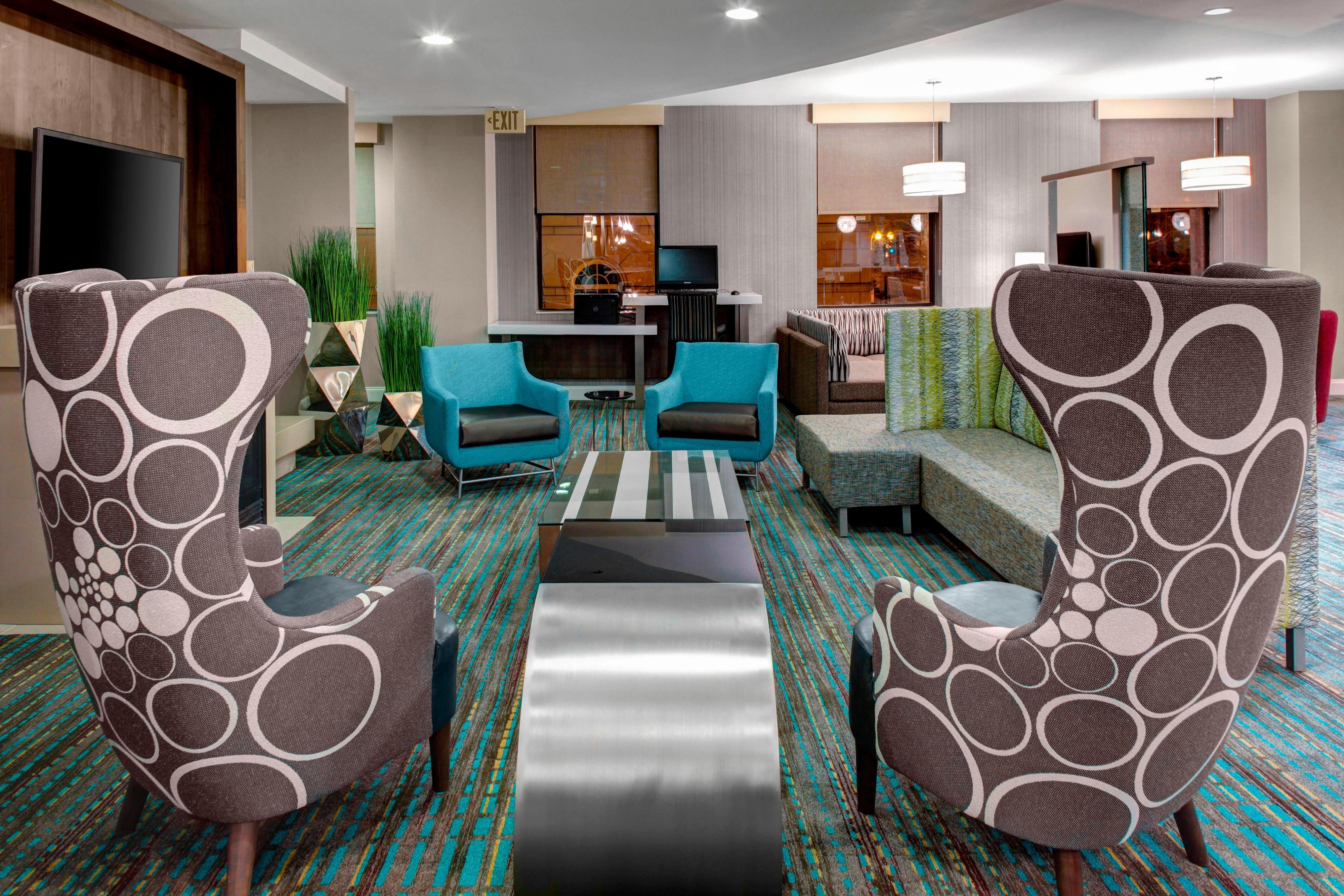Área de estar del lobby