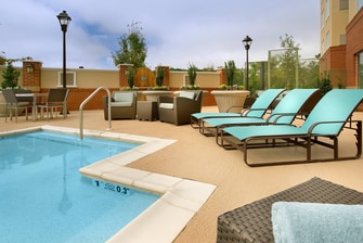 Residence Inn Duluth Pool Patio