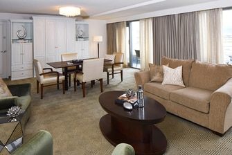 Hospitality Suite Living & Dining Areas
