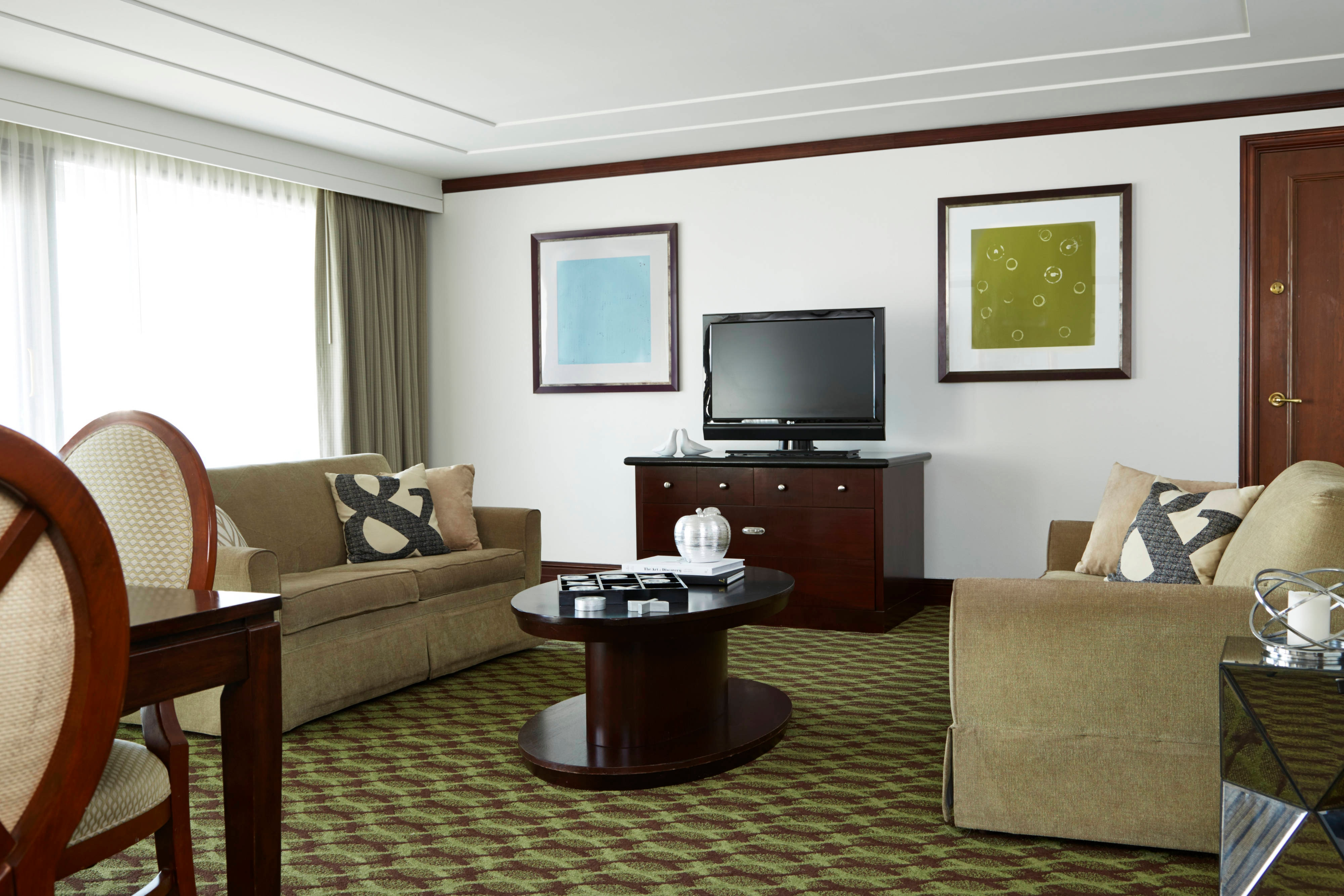 Governors Suite Living Area