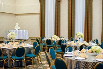 Plantation Ballroom- Wedding Setup