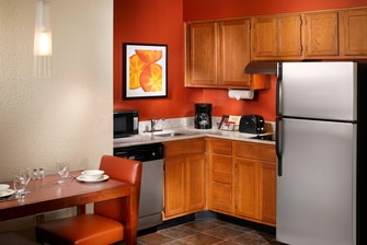Suite Kitchen at Residence Inn Kennesaw