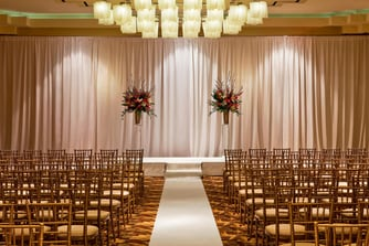 Ballroom Wedding Ceremony