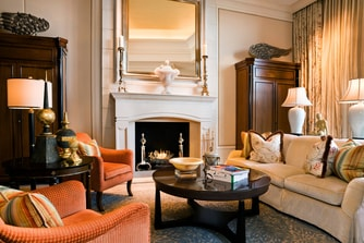 Astor Court Fireplace