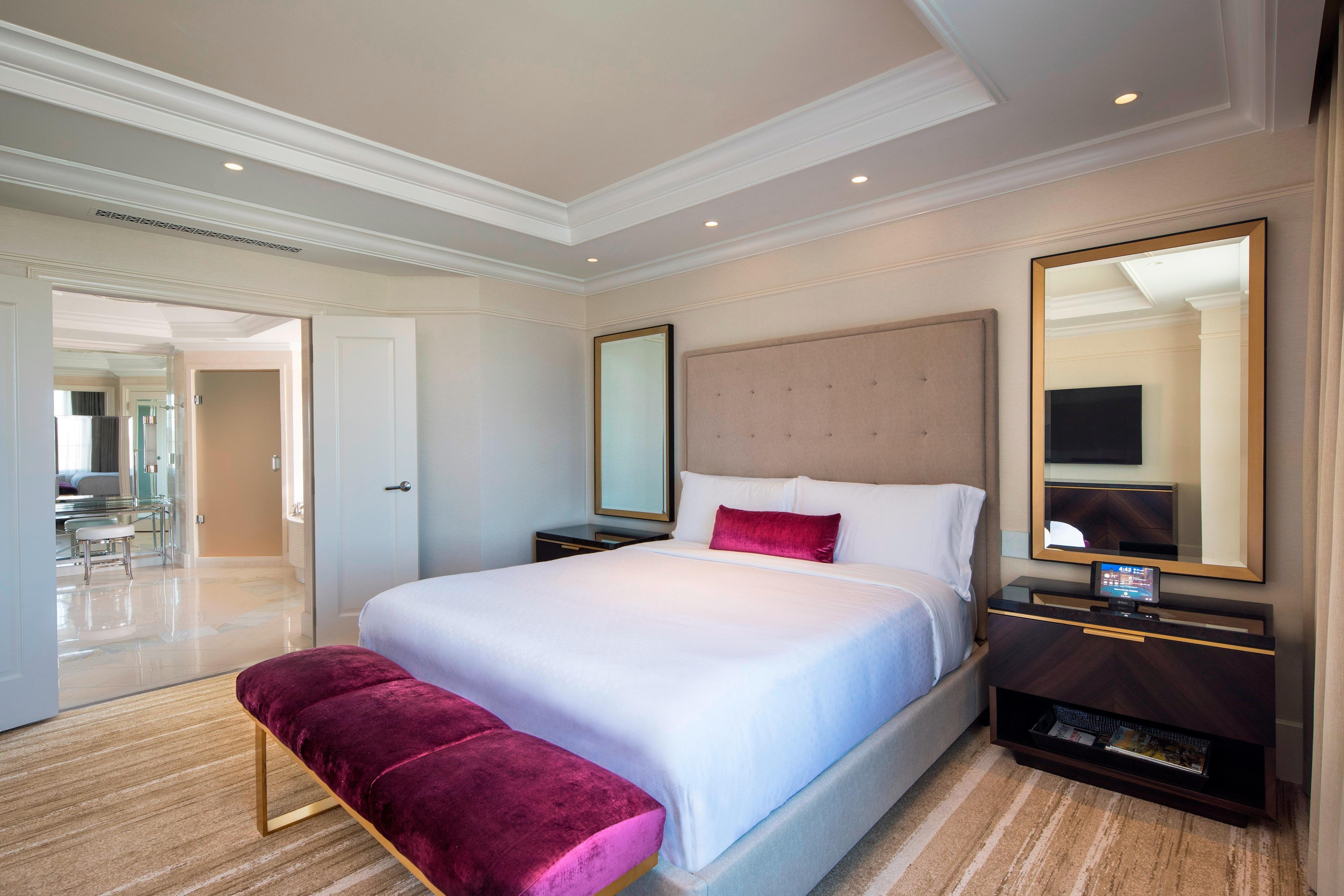 Corner St. Regis Suite Bedroom