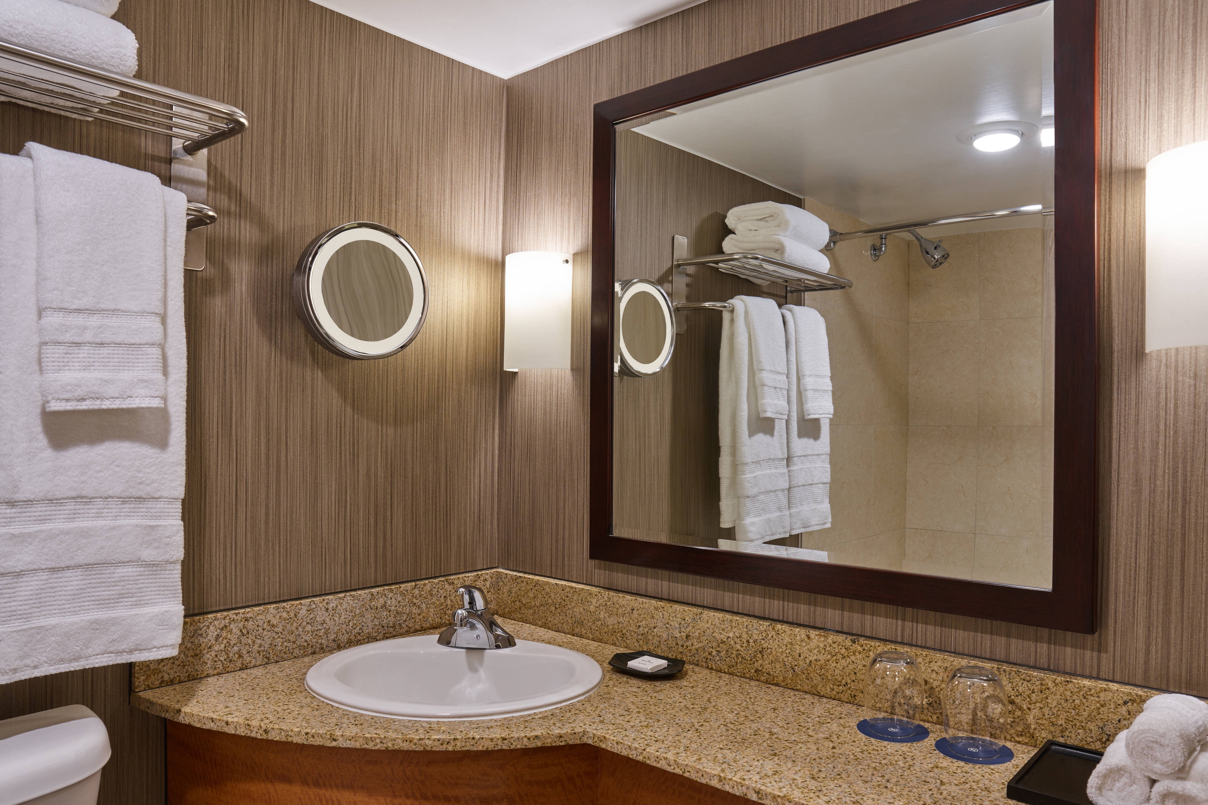 Banheiro do quarto Standard