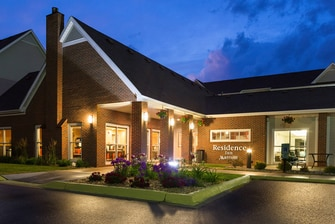 Appleton Residence Inn Entrance