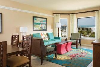 Villa Living & Dining Room - Oceanside