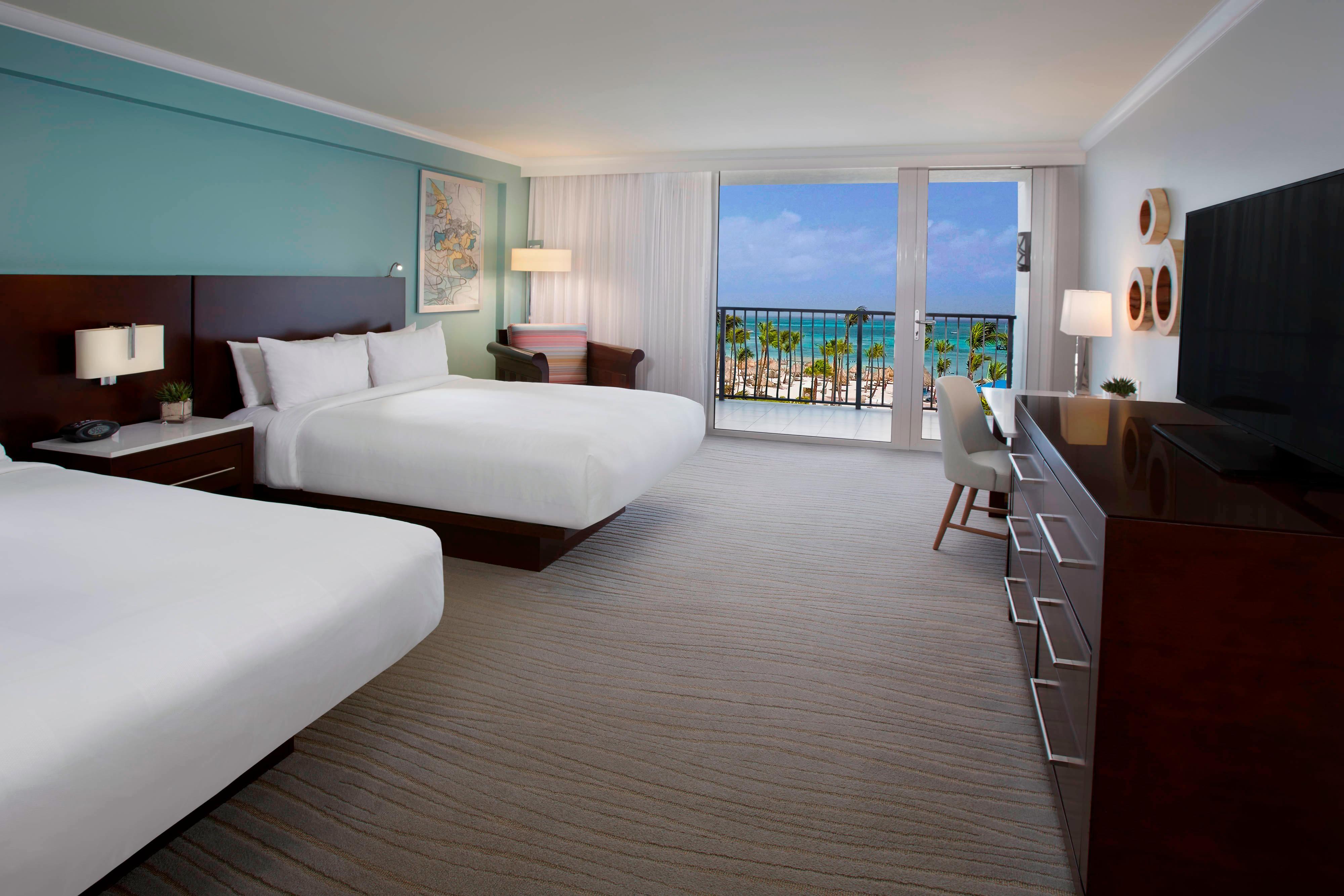 Queen/Queen Premium Ocean View Guest Room