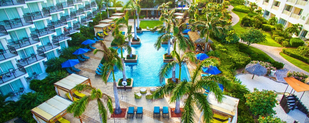 Aruba Marriott Resort Adult Pool