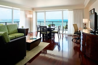Aruba Suite Living Room