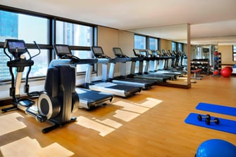 abu dhabi fitness center hotel