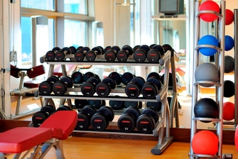 aby dhabi hotel gym