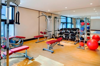 abu dhabi hotel with gym