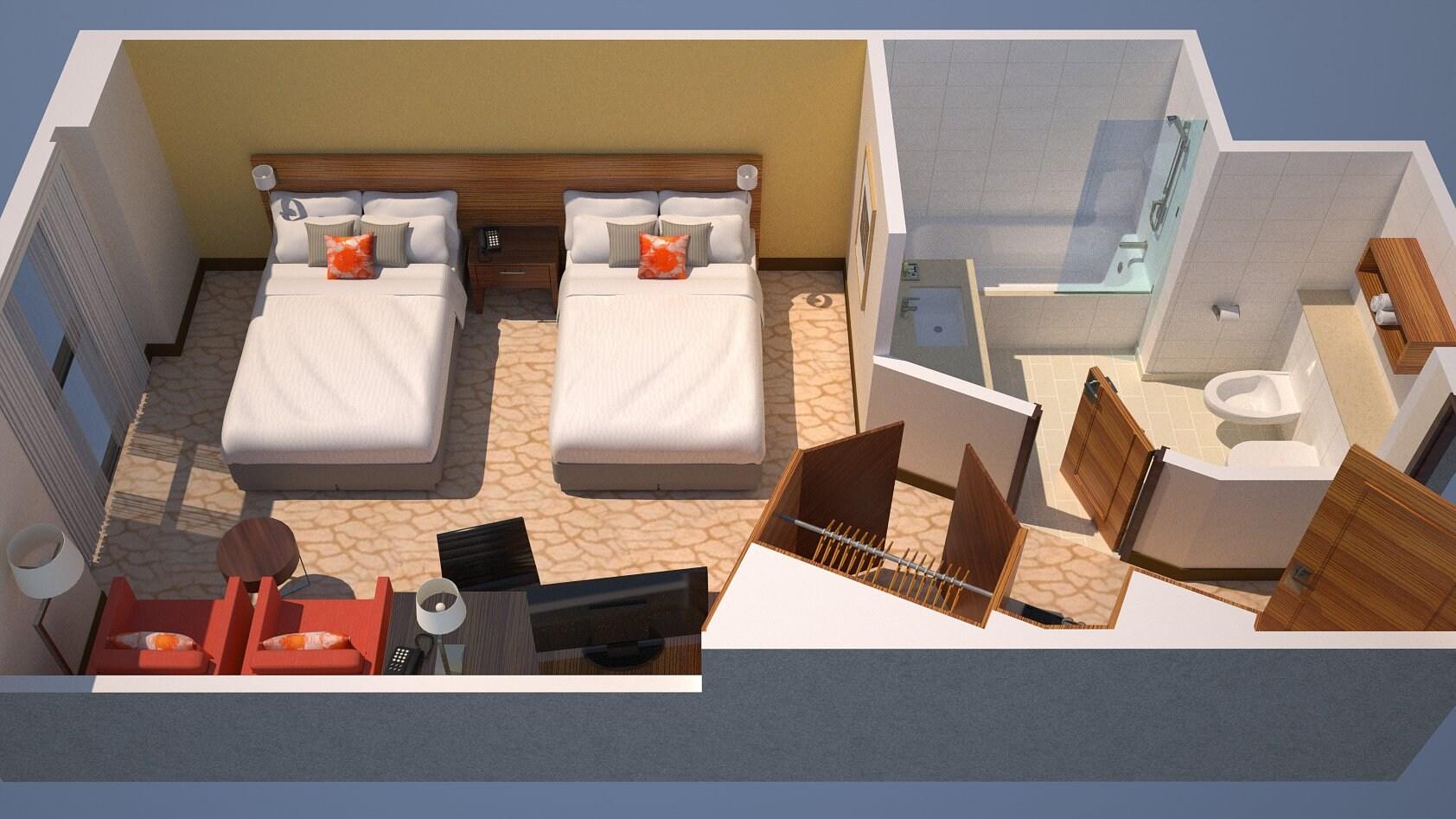 Guest Room Floor Plan